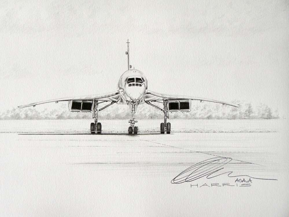 Original pencil drawing
