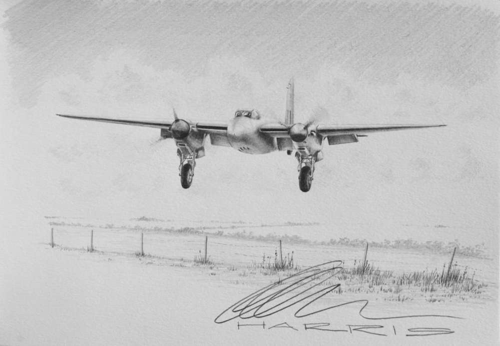 The Mosquito During Flight Testing In New Zealand Prior To Disembly And Shipment